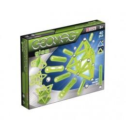 GEOMAG Klocki magnetyczne - 330 - Glow 40 elementów