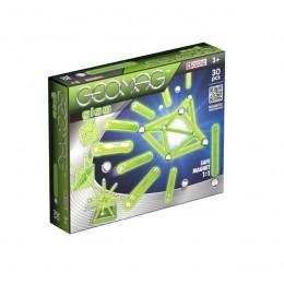 GEOMAG Klocki magnetyczne - 335 - Glow 30 elementów
