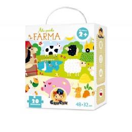 CzuCzu 36870 Ale puzzle - Farma