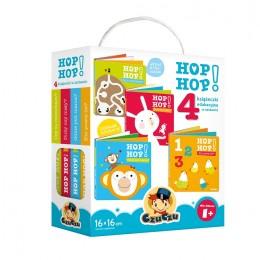 CzuCzu 39959 Hop Hop - książeczki edukacyjne