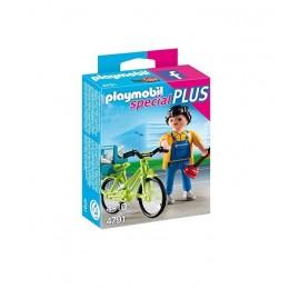 Playmobil Special Plus 4791 Rzemieślnik z rowerem