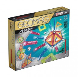 GEOMAG - Klocki magnetyczne Glitter - 44el. 5322