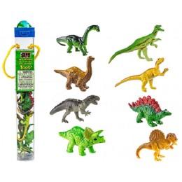 SAFARI LTD 681304 Zwierzęta w tubie - Dinozaury