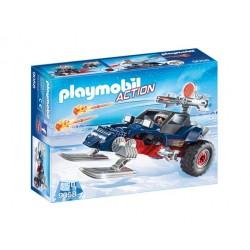 Playmobil Action 9058 Pojazd płozowy z piratem polarnym