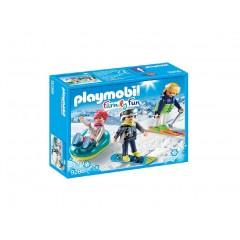 Playmobil Family Fun 9286 Zimowi sportowcy