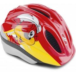 PUKY 9503 Kask rowerowy dziecięcy czerwony, rozm. XS