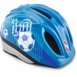 PUKY 9524 Kask rowerowy dziecięcy niebieski, rozm. S/M