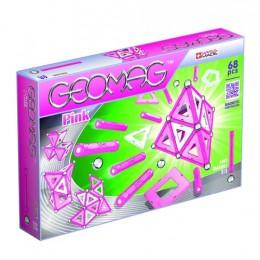 GEOMAG Klocki magnetyczne - 342 - Panels Pink 68 elementów