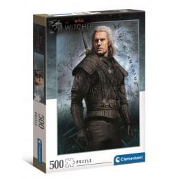 Clementoni - 500 elementów - Wiedźmin Geralt - 35092
