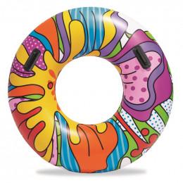 Bestway - Koło do pływania z uchwytami 119cm - 36125