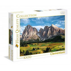 Clementoni - Puzzle Panorama - Korona Alp - 1000 elementów - 39414