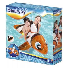 Bestway - Dmuchana Rybka - Błazenek Nemo z uchwytami 41088