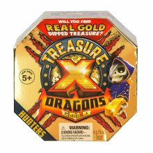 Treasure X - Dragons Gold - Złoto smoków - Łowca i skarb do odkopania 41507