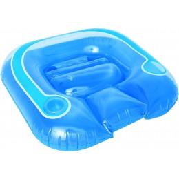 Bestway - Fotel do pływania niebieski - 43097