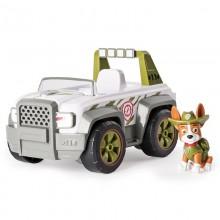 Psi Patrol 16601 Pojazd z figurką - 4632 Tracker i samochód terenowy
