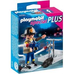 Playmobil Special PLUS 4795 Strażak z hydrantem