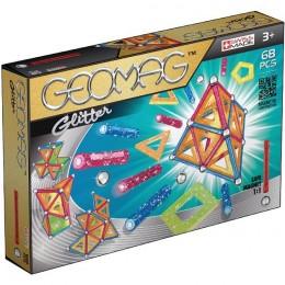 GEOMAG Klocki magnetyczne - 533 - Panels Glitter 68 elementów
