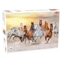 Tactic – Puzzle 1000 elementów – Dzikie konie – 56754