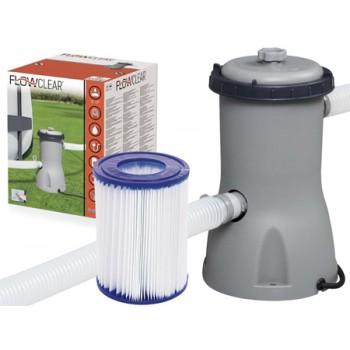 Bestway - Pompa z filtrem do basenu 3028 l/h – 58386