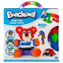 Bunchems! 602610 Zestaw z rzepami - Mega Pack 400 elementów +