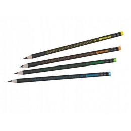 Penmate – Ołówek HB Premium trójkątny z gumką – 6647