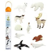 SAFARI LTD 681604 Zwierzęta w tubie - Zwierzaki z Arktyki