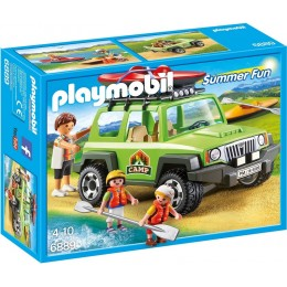 Playmobil 6889 Summer Fun - Samochód terenowy z kajakiem