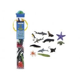 SAFARI LTD 695104 Zwierzęta w tubie - Zwierzątka morskie: Ocean