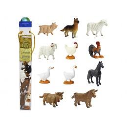 SAFARI LTD 695204 Zwierzęta w tubie - Zwierzaki na farmie