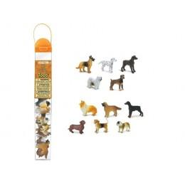 SAFARI LTD 695504 Zwierzęta w tubie - Psy domowe
