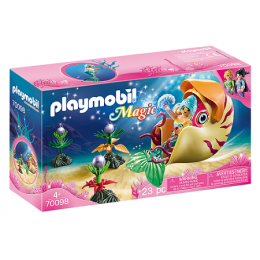 Playmobil Magic 70098 - Syrenka w gondoli ze ślimaka