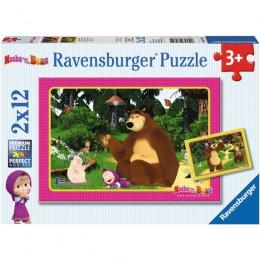 Ravensburger - Masza i Niedźwiedź 2w1 - 075850