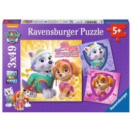 Ravensburger - Puzzle 3w1 - Psi Patrol Skye i Ever - 80083