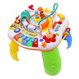 Tima Toys - Interaktywny stolik muzyczny 4w1 - Pociąg 8866