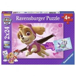 Ravensburger - Puzzle 2w1 - Psi Patrol - 091522
