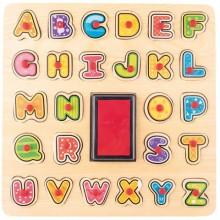 WOODYLAND 91808 Drewniane pieczątki ABC