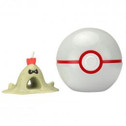 Pokemony - Figurka Sandygast i Premier Ball - Clip 'n' Go 96237