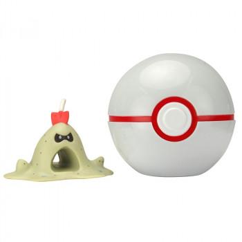 Pokemony - Figurka Sandygast i Premier Ball - Clip 'n' Go 95062