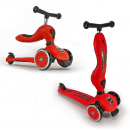 Scoot and Ride - Hulajnoga-jeździk Higwaykick 1 - Czerwona 96205