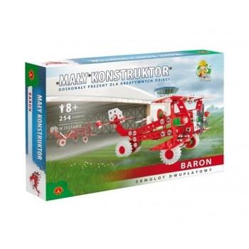 Alexander - 1614 - Klocki konstrukcyjne - Mały Konstruktor - Samolot Baron