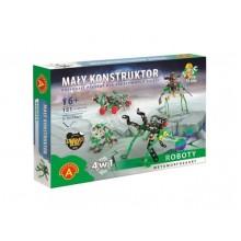 Alexander - 1621 - Klocki konstrukcyjne - Mały Konstruktor - Roboty 4w1