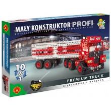 Alexander - 1634 - Klocki konstrukcyjne - Mały Konstruktor Profi - Ciężarówka z naczepą 10w1