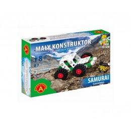 Alexander - Klocki konstrukcyjne - Mały Konstruktor - Terenówka Samurai - 5546