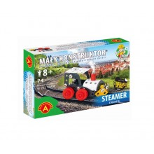 Alexander - 5621 - Klocki konstrukcyjne - Mały Konstruktor - Ciuchcia Steamer