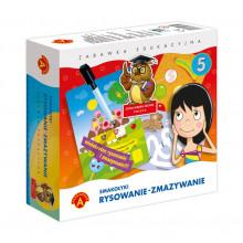Alexander - Zabawa edukacyjna - Rysowanie, zmazywanie - Smakołyki - 7404
