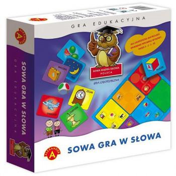 Alexander - Gra edukacyjna - Sowa - Gra w słowa - 3741