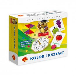 Alexander - Gra edukacyjna - Kolor i kształt - 3970