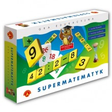 Alexander - Gra Edukacyjna - Supermatematyk Maxi - 4670