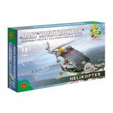 Alexander - Klocki Konstrukcyjne - Mały Konstruktor - Helikopter - 1029