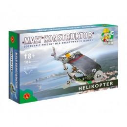 Alexander - Klocki Konstrukcyjne - Mały Konstruktor - Helikopter